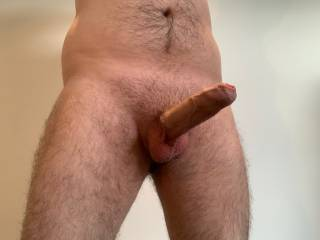 Nice and hard but no one to play with. Who would like to help me out with that?