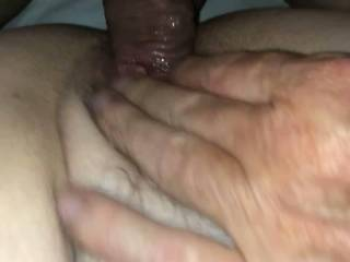 Fucking and fingering a very wet pussy!!