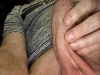 love to stroke my cock for you. Do you like watching?