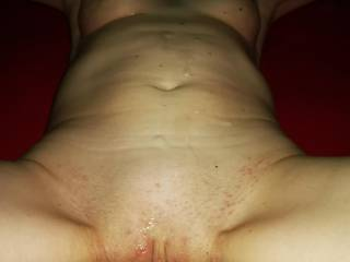 Oh yes, love this sub, she makes me really hard&hot, first cum this night on der body