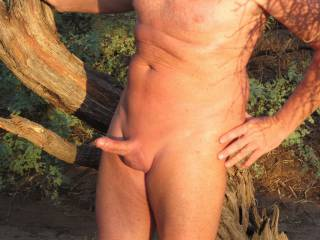 Being a nudist I love being nude outdoors. There\'s a field near my house that I like to take a walk in and occasionally jerk off.