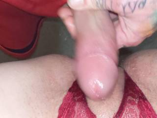 Fucking my wife\'s tight little pussy.