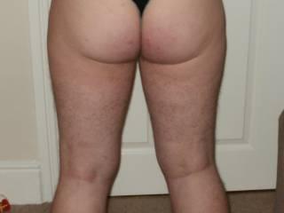 ass in panty shot