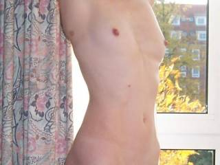 I love small tits also. Hers are perfect! She is very hot. You are a lucky man to have her.