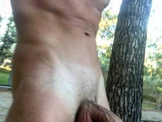 big dick fun outdoor
