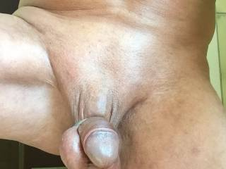 Nice with weights around cock and balls