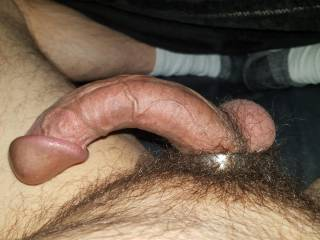Watching porn and stroking my cock