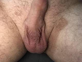 Relaxing my cock for the evening!