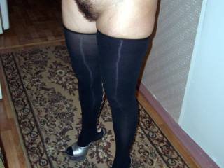 Damn you are sexy! Love that hairy pussy!