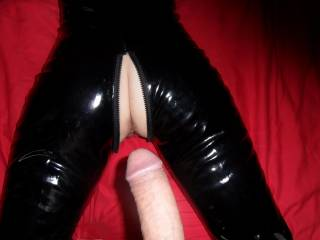 I'D LOVE TO BE THERE TO LICK YOU TO A GREAT ORGASM AFTER HE FILL'S YOU DEEP!!! MMMMMMMMMMMMMMMMMMMM SOO SEXXY A HOTT GODDESS TO GETT FILLED IN PVC !!! PLEASE LET ME WORSHIP YOU AFTER HE FILLS YOUR SWEET HOTT ASS AND PUSSY!!!