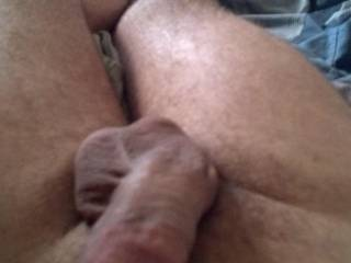Goddamn would I love to lick and suck that hot cock and balls of yours!