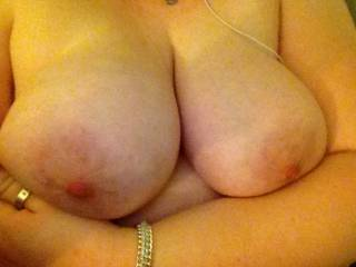 We'd both LOVE a facefull of your percent big titties.  :)