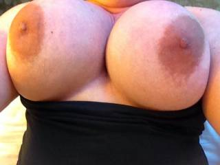 I would love to slide my hard cock between your titties and fuck them till I release my big sticky cum load all over your titties