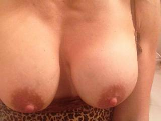 would love to lick,kiss,suck and nibble those hard nipples