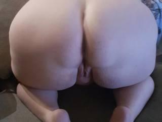 Sexy white juicy ass