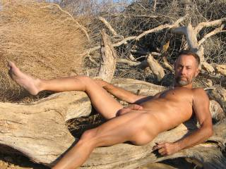 Enjoying a great relaxing day as a nudist,,,,,company always welcome for sure,,,,
