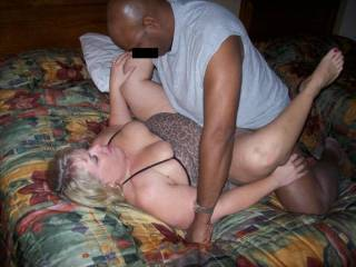 Mrs Daytonohfun from here on zoig getting some black cock during a recent hotel party