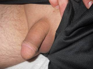 beautiful circumcised cock, just the way I luv them. Georgeous head, so kissable...