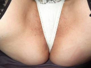 Love them, would love to be teasing your pussy through them, getting them nice n wet........, c