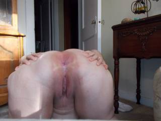 I thought about it, and I really do enjoy being fucked...both or either hole...I will be wet enough for you.