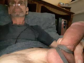 Watching porn while  jerking off.  Great combo right.