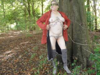 Hi all back again, hubby finally got over his nasty flu bug so we took our last trip to the woods hope you like them comments welcome mature couple