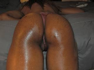 more of the 6\'5, 23y/o college basketball player....I gave her fit body a great massage!