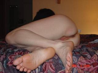 luv getting my toes sucked