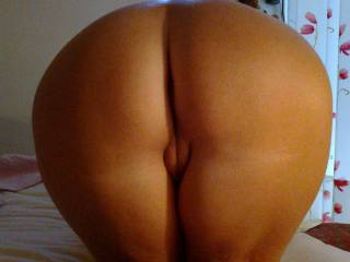Yes!  Nice ass!  Now spread those cheeks and I will gladly lick your asshole!