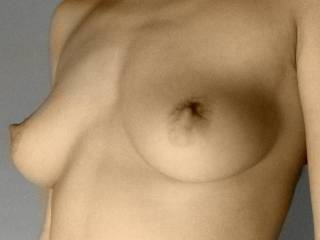 luv the way your nipples turn up ready to be sucked on :)~ ~