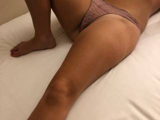 Feeling horny, waiting around for some cock to climb on.