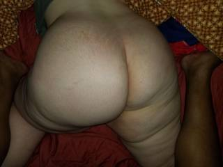 She loves showing  me her big ass