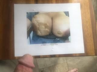 tribute cum request some amazing breasts