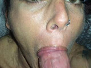I love thick cock in my mouth