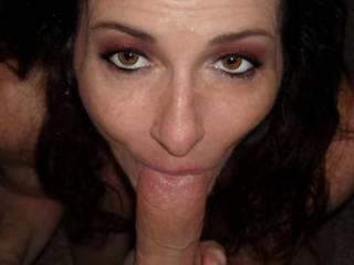 Wife sucking cock