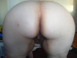 I do hope she takes cock in that big fat ass