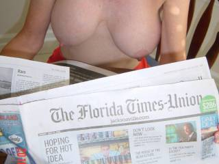 My home town paper.an a lovely rack.