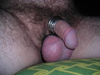 Really getting into using cock and ball rings to increase my pleasure!