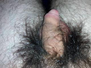 Hairy indeed love to slip back that skin
